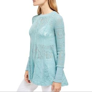 FREE PEOPLE $128 Coffee In The Morning Pullover